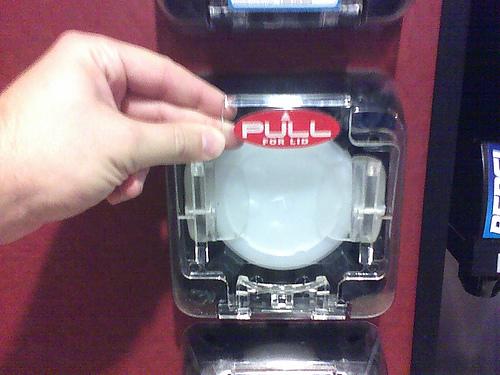 Dispense-a-lid