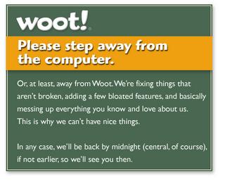 Why I like Woot!
