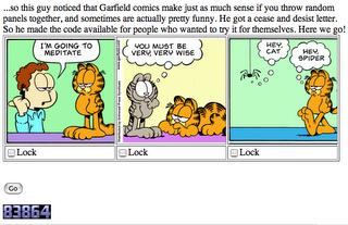 Garfield Zen