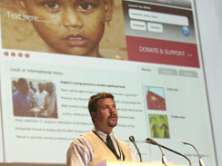 Brian Atkinson Speaking at the United Bible Societies World Assembly