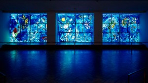 Chagall - 'America Windows' stained glass