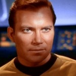 Willam Shatner as James T. Kirk